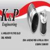 FILTRO OLIO k&P ENGINEERING